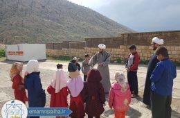 برنامه های فرهنگی برای کودکان زلزله زده سرپل ذهاب